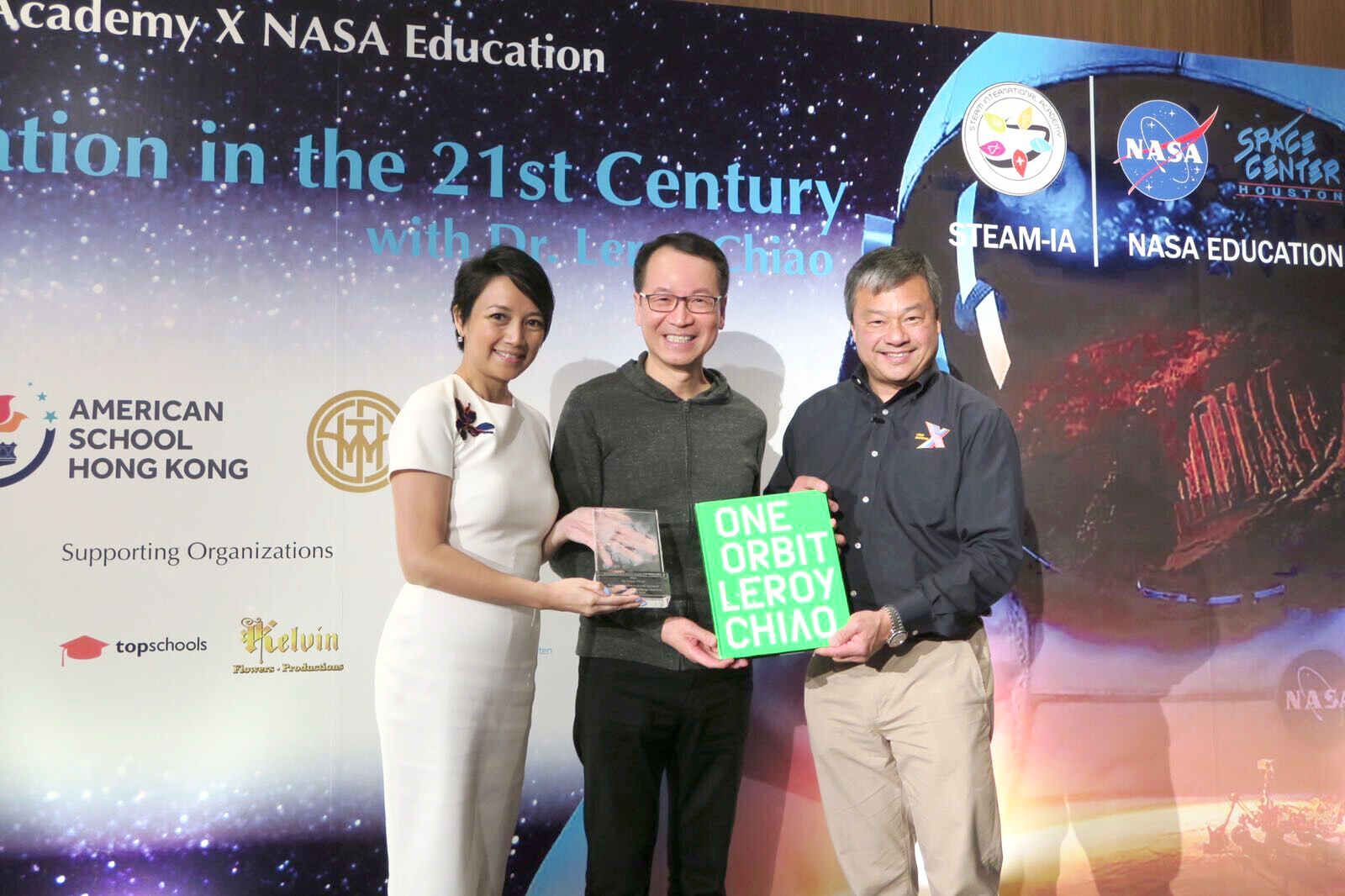 <b>[公益慈善] 景鸿集团金赞助「STEAM Education in the 21st Century with Dr. Leroy Chiao」</b>